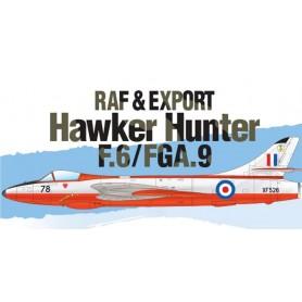 Academy 12312 Flygplan RAF & Export Hawker Hunter F.6/FGA.9 med svenska dekaler