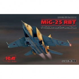 "ICM 48901 Flygplan MiG-25 RBT ""Soviet Reconnaissance Plane"""