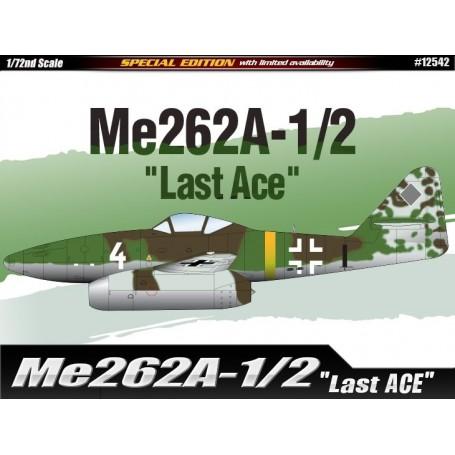"Academy 12542 Flygplan Me 262A-1/2 ""Last Ace"""