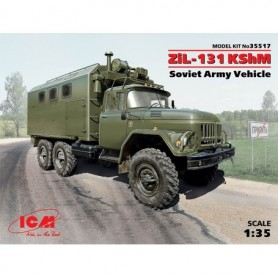 "ICM 35517 Zil-131 KShm ""Soviet Army Vehicle"""