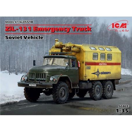 "ICM 35518 Zil-131 Emergency Truck ""Soviet Vehicle"