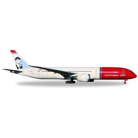 "Herpa 530170 Flygplan Norwegian Boeing 787-9 Dreamliner – EI-LNI ""Greta Garbo"""