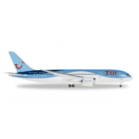 """Herpa 530163 Flygplan TUi Airlines Belgium (Jetairfly) Boeing 787-8 Dreamliner OO-JDL """"Daimond"""""""