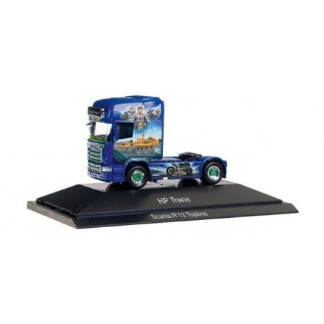 """Herpa 110877 Scania R TL rigid tractor """"HP-Trans - Valentino Rossi"""" (CZ)"""
