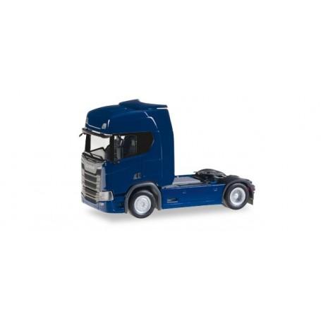 Herpa 307109 Scania CR 20 HD rigid tractor, dark blue