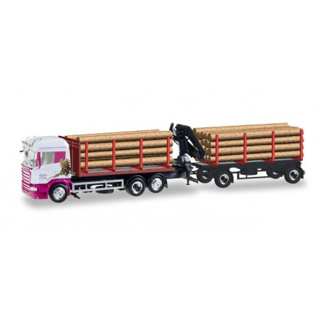"Herpa 307147 Scania R HL wood carrier ""Roland Scholz"""