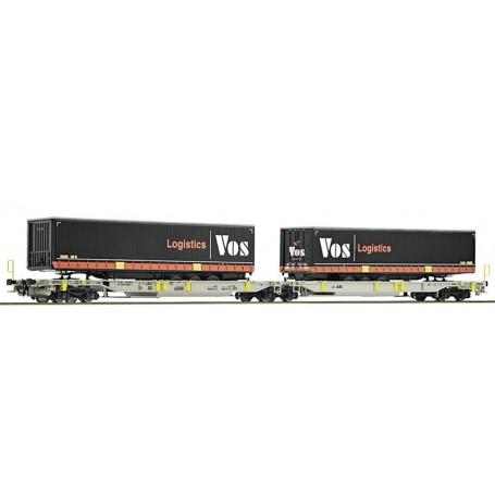 "Roco 76417 Dubbelvagn AG AAE ""Vos Logistics"""