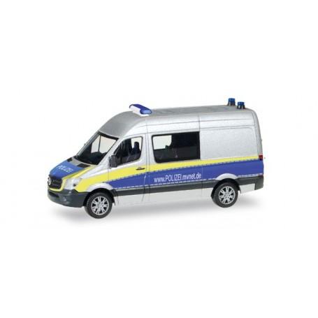 """Herpa 093088 Mercedes-Benz sprinter semi-bus """"Polizei Mecklenburg-Vorpommern"""""""