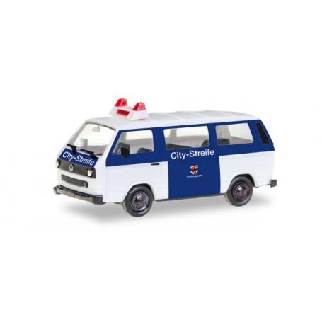 """Herpa 093101 VW T3 Bus """"Citystreife Ordnungsamt Leverkusen"""""""