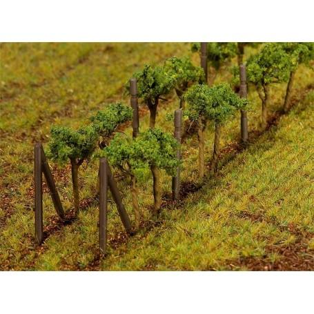 Faller 181254 Vinrankor, 24 st, höjd 35 mm