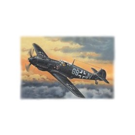 ICM 72134 Flygplan Bf 109E-4 WWII German Night Fighter