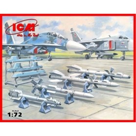 ICM 72212 Soviet Air-to-Air Aircraft Armament