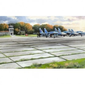 ICM 72214 Soviet PAG-14 Air-field Plates