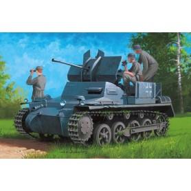 Hobby Boss 80147 German Flakpanzer IA w/ Ammo Trailer