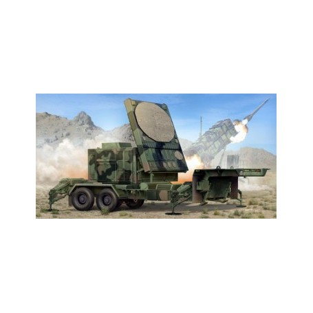 Trumpeter 01023 MPQ-53 C-Band Tracking Radar