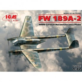 ICM 72292 Flygplan FW 189A-2, WWII German Reconnaissance Plane