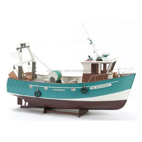 """Billing Boats 534 Båt """"Boulogne Eatples"""", trässkrov"""