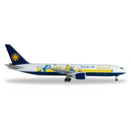 """Herpa 526661 Flygplan Varig Boeing 767-300 """"World Cup"""""""
