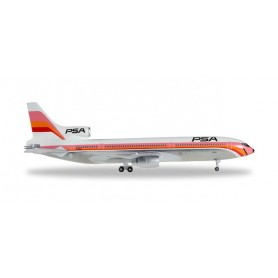 Herpa 528092 Flygplan PSA Pacific Southwest Airlines Lockheed L-1011-1 Tristar