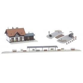 Faller 239001 Mühlheim Railway station set