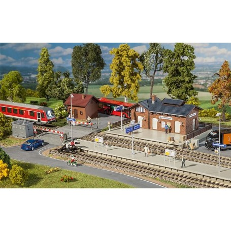 Faller 190277 Railway station set Amselfingen