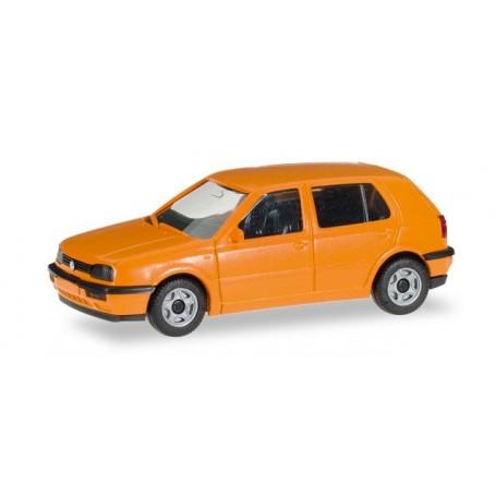 Herpa 012355.6 Herpa MiniKit: VW Golf III, orange