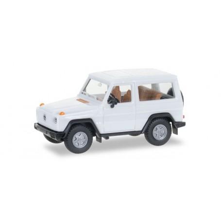 Herpa 012645.7 Herpa MiniKit: Mercedes-Benz G-Modell, white