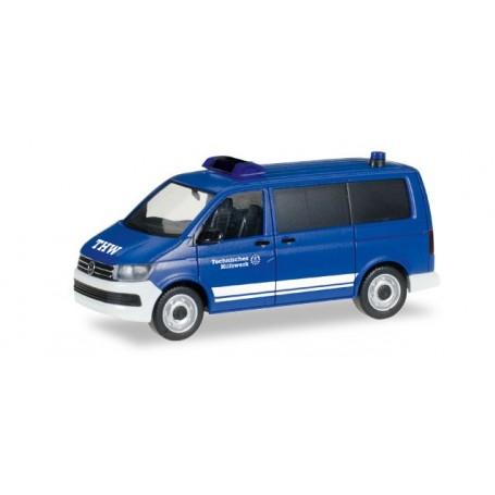 "Herpa 093057 VW T6 Transporter ""THW"""