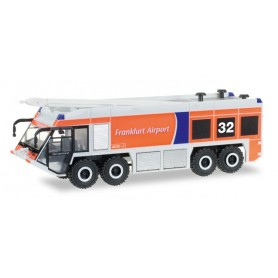 Herpa 093019 Ziegler Z8 airfi eld fi re truck ?Fraport Nr. 32?