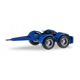 Herpa 051453.3 Dolly for trailer, oversize (4 pieces), ultramarine blue