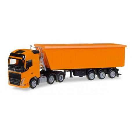 Herpa 307215 Volvo FH Gl. 6x2 Stöffel-Liner truck semitrailer