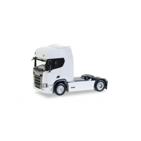 Herpa 307185 Scania CR20 HD rigid tractor, white