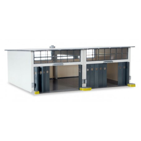 Herpa 745857 Herpa Military: Building set 2-stall repair facility