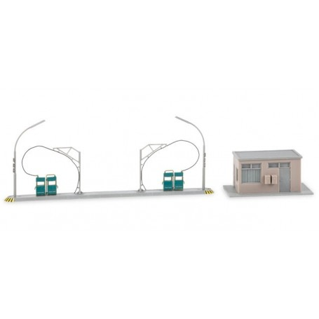 Herpa 745864 Herpa Military: Building set filling station