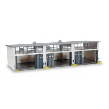 Herpa 745802 Herpa Military: Building set 3-stall repair facility