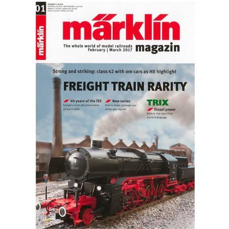 Märklin 286139 Märklin Magazin 1/2017 Engelska