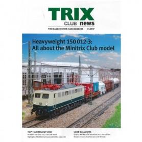 Trix CLUB12017 Trix Club 01/2017, magasin från Trix