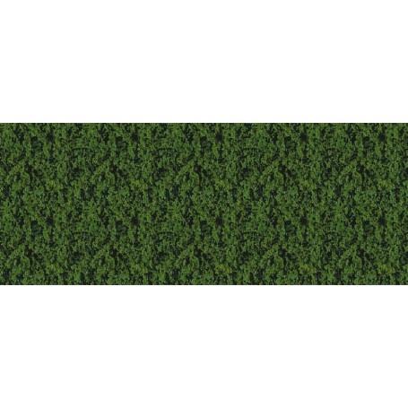 Heki 1552 Dekorgräs, mörkgrön, mått 14 x 28 cm