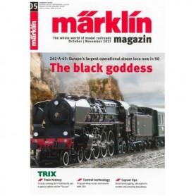 Märklin 286157 Märklin Magazin 5/2017 Engelska