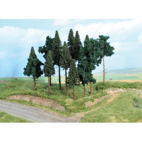 Heki 2264 Mixad skog, 14 st, 10-7 cm