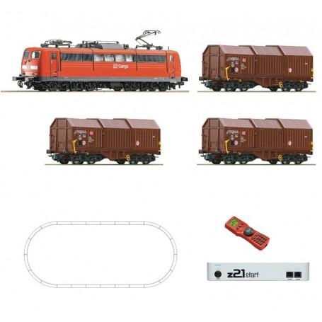 Roco 51293 Digital starter set z21: Electric locomotive BR 151 and goods train, DB AG