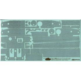 Tamiya 12647 Zimmerit Coating Sheet - Tiger I (Mid Late Production)