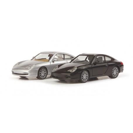 Herpa 033039 Porsche 911 Targa, metallic