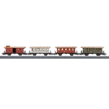 Märklin 4035 Vagnsset med 4 personvagnar