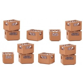 Faller 180334 Set of beverage crates