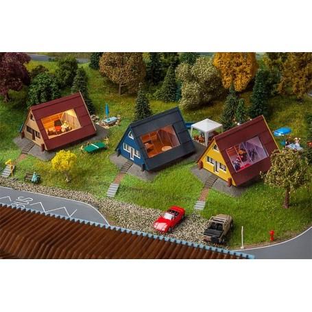 Faller 130606 Set of holiday homes
