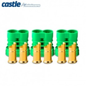 Castle 011006900 Polarized Bullet Kontakt 6,5mm hona 3set