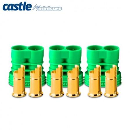 Castle 011006900 Polarized Bullet Kontakt 6,5mm hona 3set