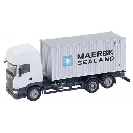 Faller 161598 Lorry Scania R 13 TL Sea container (HERPA)