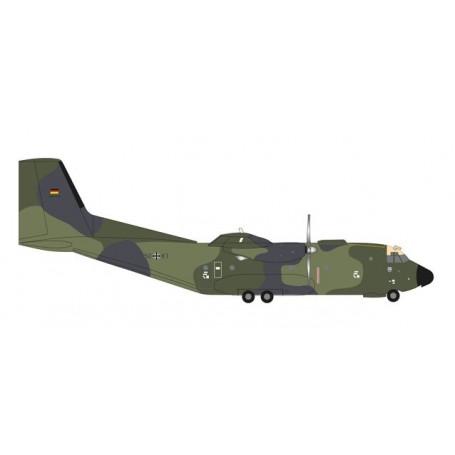 "Herpa 558334 Flygplan Luftwaffe Transall C-160 - LTG 63 / ISAF Einsatzgeschwader Mazar-e-Sharif ""Last Out"""